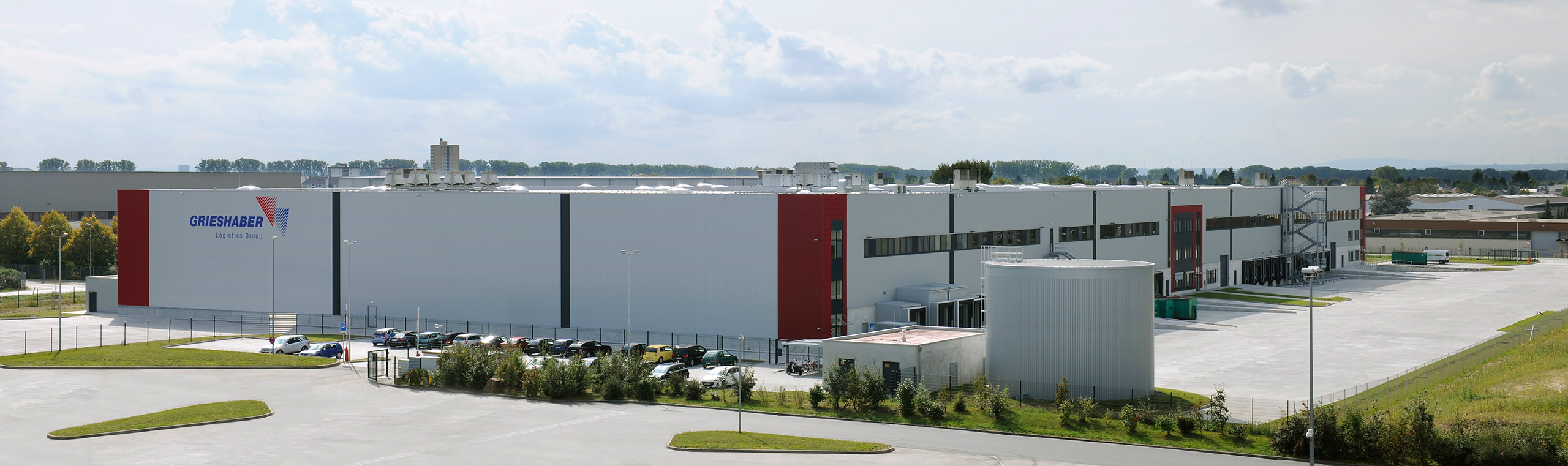 Grieshaber Logistics Group Firmensitz in Biebesheim
